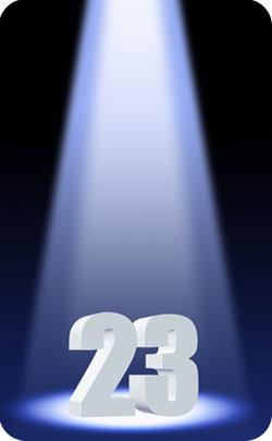 23rd year spotlight image