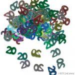 20th (Metallic Mix) Confetti